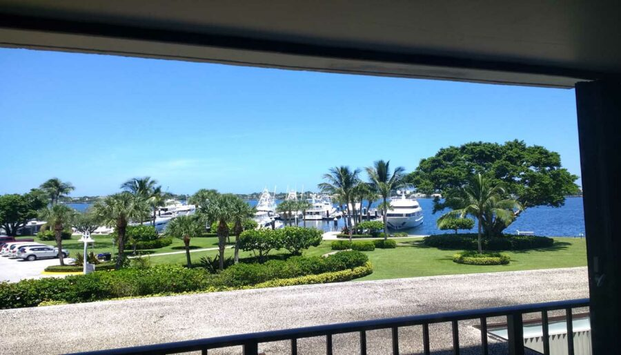136 Lakeshore Dr #311 North Palm Beach FL 33408 Condo For Sale FLPalmBeach Martin Group Real Estate Marina View From Balcony 1400x800