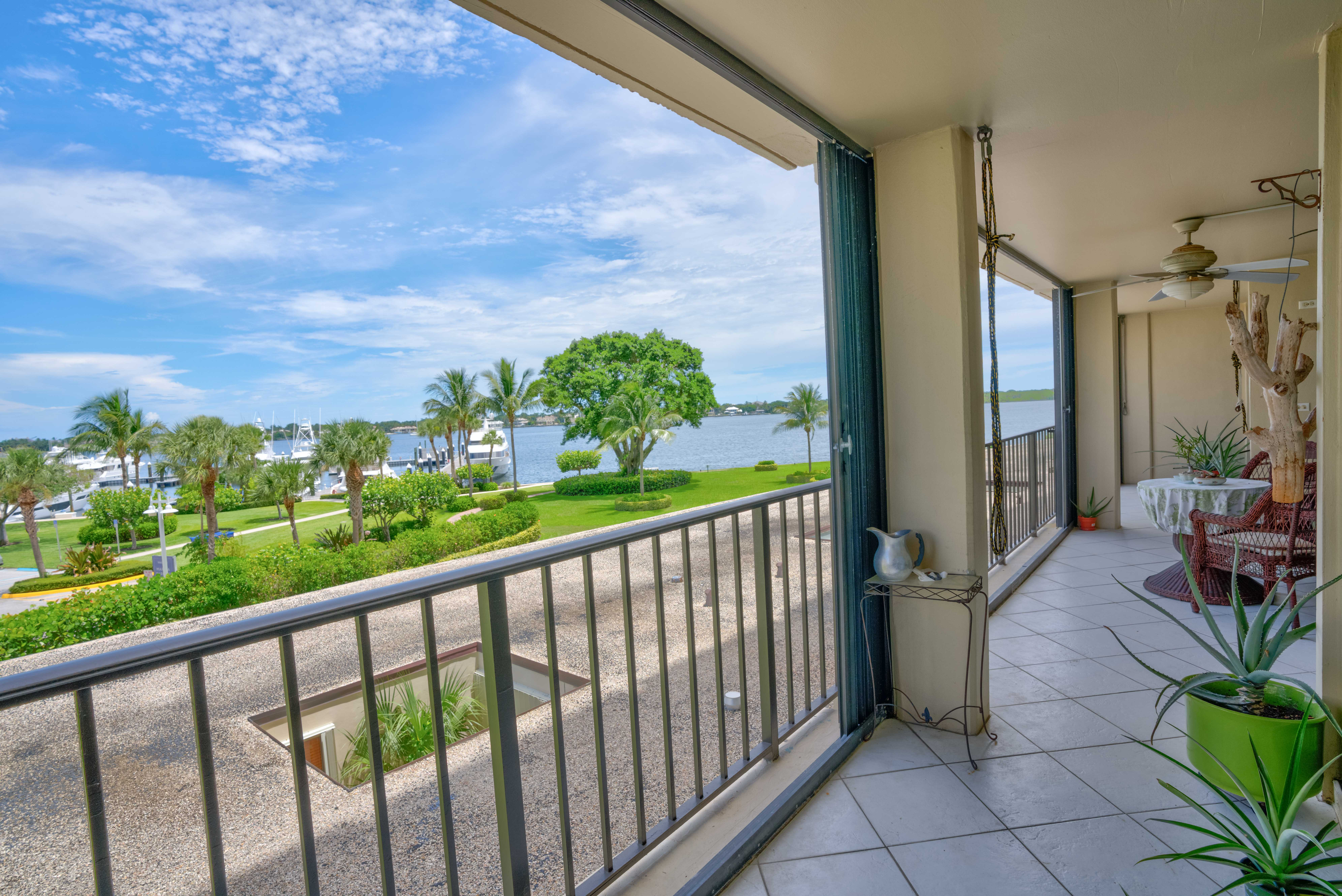 Balcony Intracoastal Water View136 Lakeshore Dr #311 North Palm Beach FL 33408