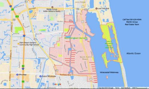 North palm beach fl 33408 google map city outline