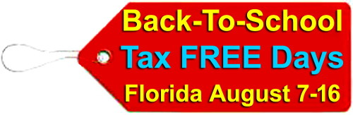 Back-To-School Tax FREE Days in Florida on flpalmbeach.com/blog/ post by Jason Martin Group Image