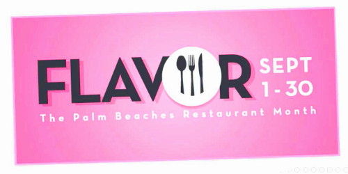 Flavor September 2016 Restaurants Event in Palm Beaches