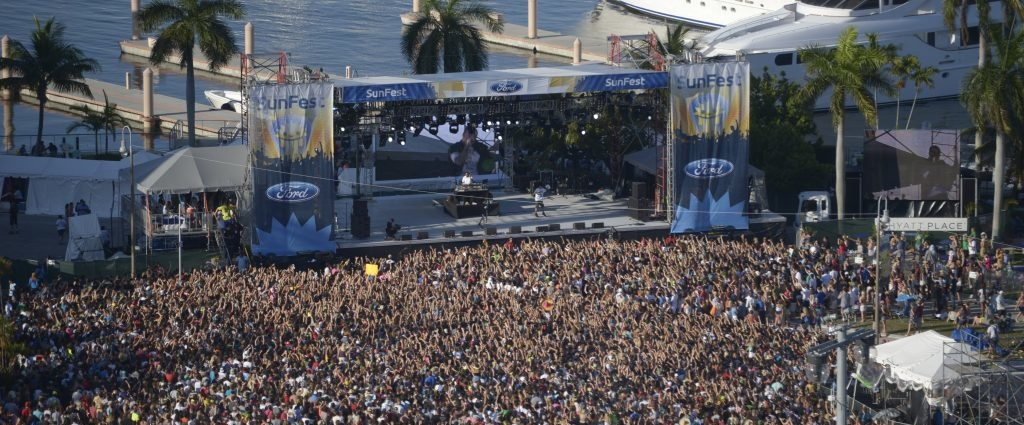 flpalmbeach.com Things To Do Sunfest Crowd Boats Martin Group Real Estate Photo