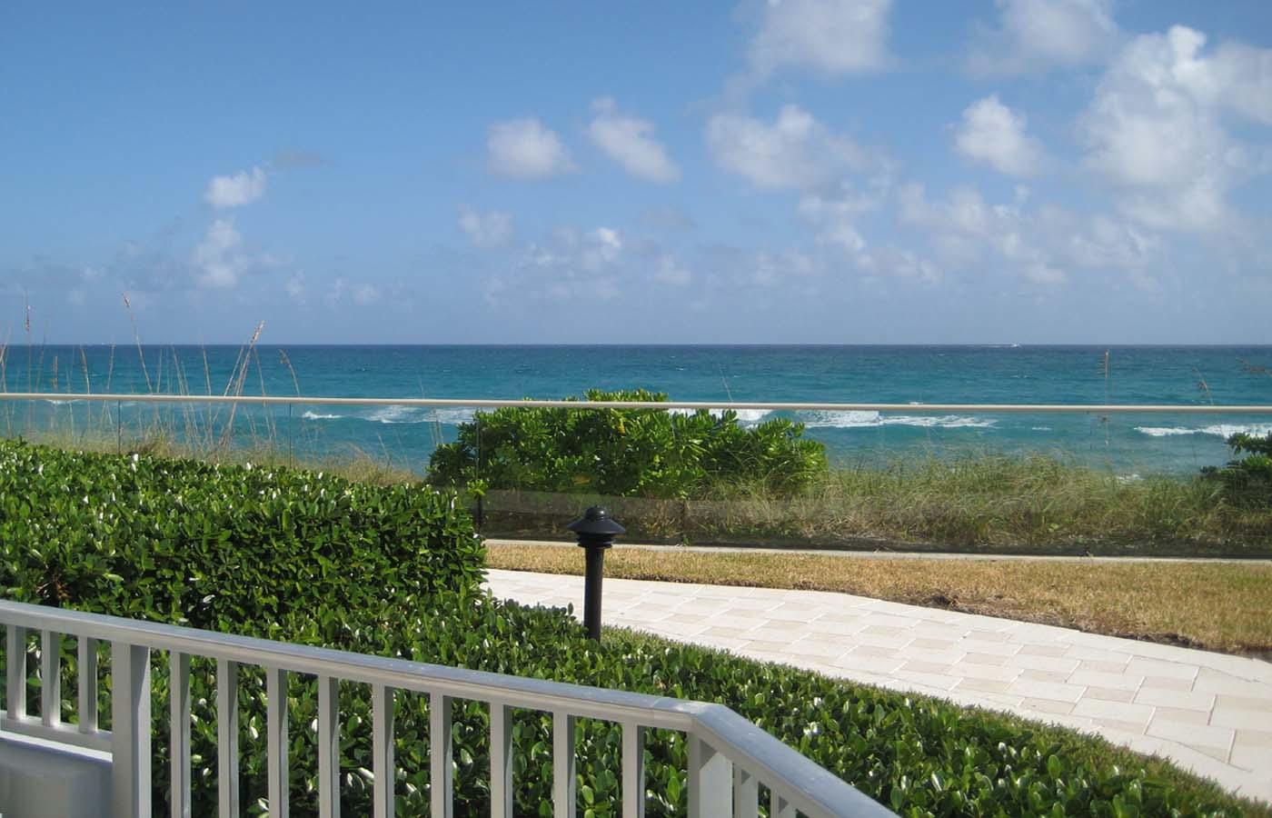 5200 N Ocean Dr 102 Singer Island FL 33404 Martin Group Ocean View from Porch 1400x900