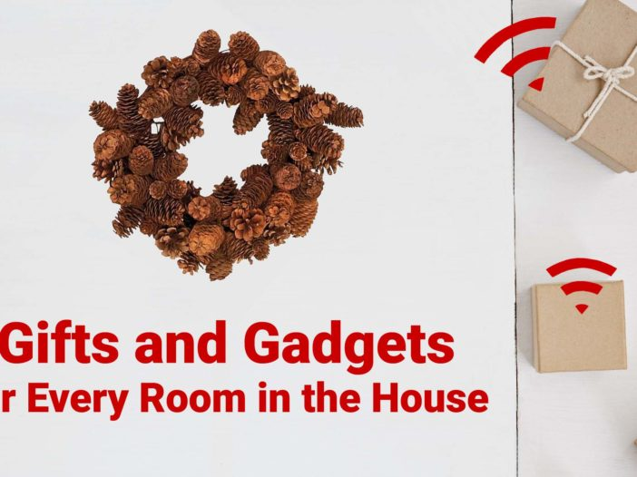 Gifts and Gadgets for Every Room in House Pine Cone Wreath Image