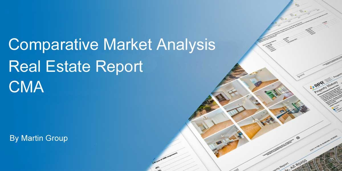 CMA Home Value Report Comparative Market Analysis FLPalmBeach Martin Group Real Estate 1200x600