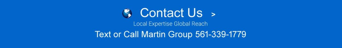 Contact Us Blue Banner Globe Image