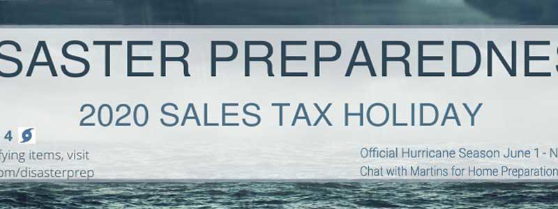 Disaster Hurricane Preparedness No Tax Page Banner FLPalmBeach Martin Group Real Estate1200x300 Image