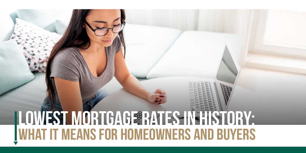 Lowest Mortgage Rates in History FLPalmBeach Martin Group Real Estate Palm Beaches 1