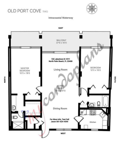 Old Port Cove 136 Lakeshore Dr Floor Plan FLPalmBeach Martin Group Real Estate