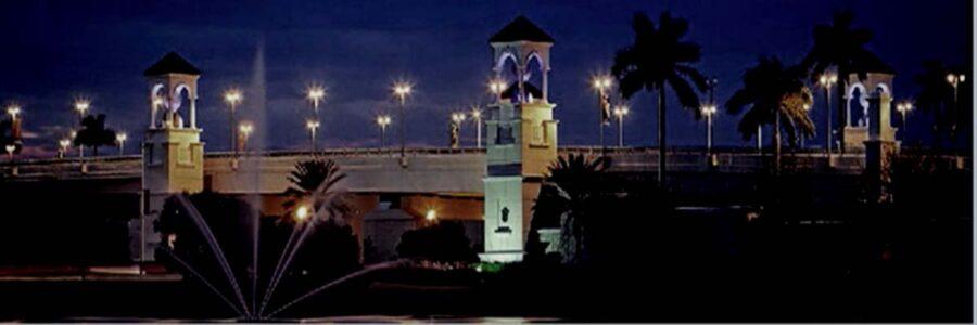 PGA Blvd Bridge Night flpalmbeach Martin Group Real Estate Palm Beaches FL 1200x400