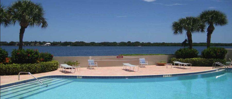 Swimming Pool Intracoastal View