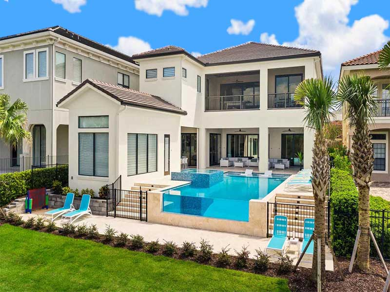 Search Single Family Pool Home