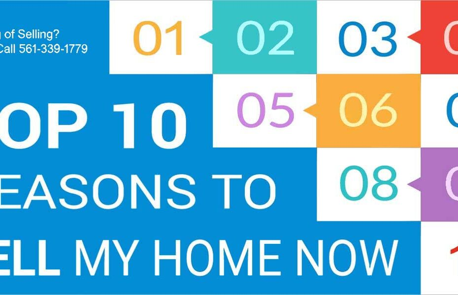 Top 10 Reasons To Sell Home Now FLPalmBeach Martin Group Real Estate 1200x600