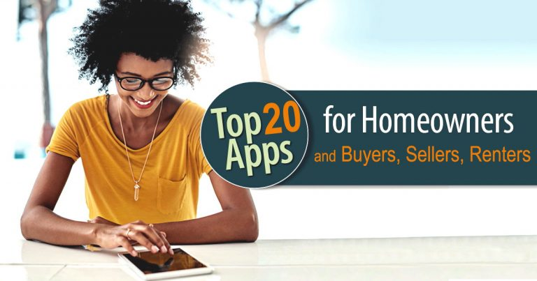 Top 20 Apps for Homeowners Buyers Sellers Renters flpalmbeach.com Martin Group Real Estate Image